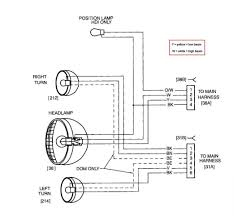 headlight wiring diagram motorcycle 3 wire headlight wiring