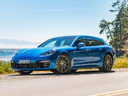teal porsche 2018 porsche panamera sport turismo first review kelley blue book