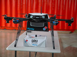 amazon domino u0027s and the future drone delivery market business