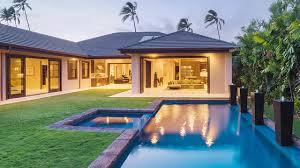 Hawaiian House Modern Hawaiian Home