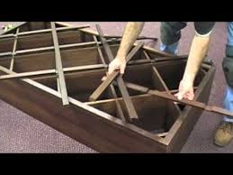 how to assemble a six foot diamond bin wine rack with face trim