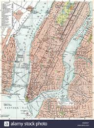 Nyc City Map Historical Map Of New York City Usa 1896 Stock Photo Royalty