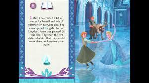 frozen storybook app apps kids