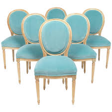Antique Dining Room Chairs Styles Antique Louis Xvi Medallion Back Dining Chairs At 1stdibs