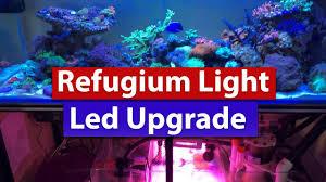 Refugium Light Refugium Light Led Upgrade And Mounting To Steel Aquarium Stand