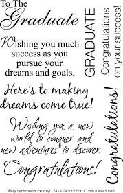 my sentiments exactly rub ons graduation cards supplier paper