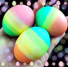 Easter Egg Decorating Ideas For 5 Year Olds by Rainbow Dipped Easter Eggs Crafty Morning