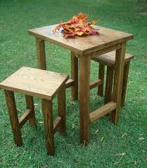 diy bar height table best phantasy diy easy pallet outdoor bar made using pic of height
