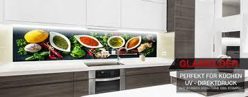 glasbilder küche küchenspitzschutz aus echtlgas dekoplanet24 de desing dekoration