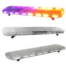 led emergency light bars cheap china police purple led light bar for funeral car big power 12v or