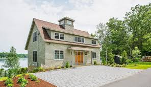 shingle style cottage new small barn home mansfield hollow