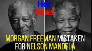 Meme Nelson - nelson mandela and morgan freeman meme morgan freeman youtube