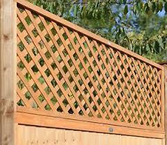 Diamond Trellis Panels Fsc Trellis Fence Panel Diamond Lattice Heavy Duty Double Framed