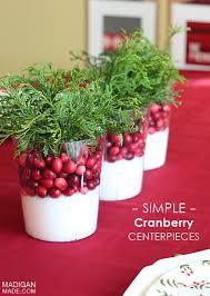 Cheap Christmas Centerpiece - 34 creative christmas centerpieces cranberry centerpiece diy