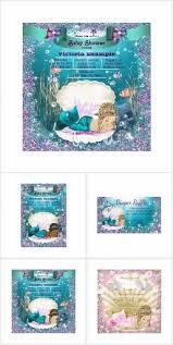 mermaid baby shower invitations 64 best mermaid baby shower invitations ideas images on