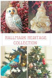 giveaway celebrate the holidays with hallmark heritage ornaments