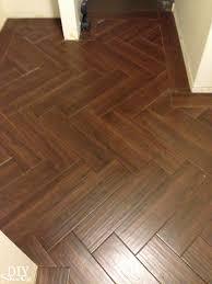 diy herringbone tile pattern herringbone tile and