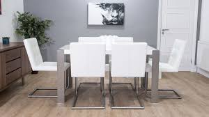 Black White Dining Chairs Real Leather Designer Dining Chair Grey White And Black Uk