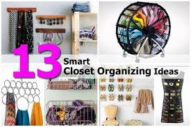 13 smart closet organizing ideas