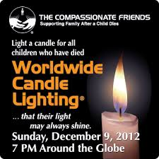 grief healing worldwide candle lighting service 2012