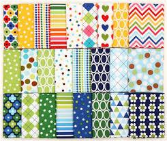 quarter fabric bundle kelle green robert kaufman fabric