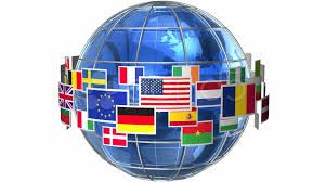 Spin Flag Rotating Earth Globe With World Flags Video 10831495