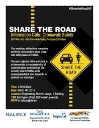 news u0026 events share the road nova scotia dalhousie university