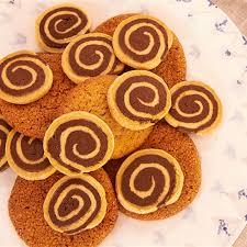 chocolate and vanilla swirl biscuits recipe rachel allen
