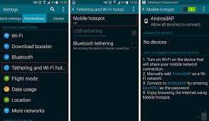 mobile hotspot for android how to create a portable hotspot on your android device and