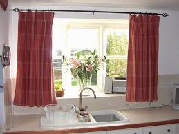 Cottage Kitchen Curtains by Kitchen Window Coverings Kitchen Window Corniceand That Sink
