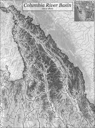 Columbia River Map Hesperus Arts Columbia River Basin Maps