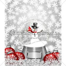 snow globe blank and tree ornaments gl stock images