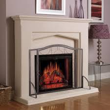 Single Fireplace Screen by Goplus Single Panel Fireplace Screen Steel Frame Heavy Duty Mesh