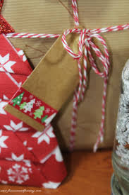 diy christmas gifts 6 rudolph wrapping paper