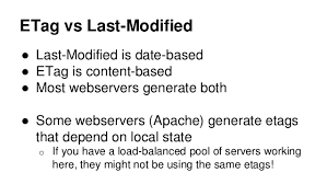 apache etag caching up and the stack