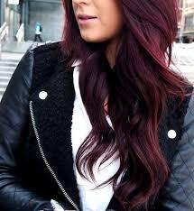 coke blowout hairstyle love dark cherry coke hair color by kari haircare pinterest