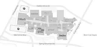 Las Vegas Map Hotels by Venues Vip Dine 4less Card