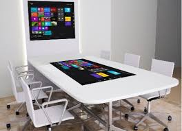Interactive Meeting Table Meeting Room Touchscreen Table Boardroom Touch Table