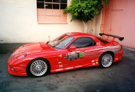Veilside Rx7 Interior Bonhams 1993 Mazda Rx7 The Fast U0026 The Furious Universal 2001