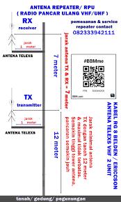 skema u0026 komponen repeater ht jual repeater ht 082333942111