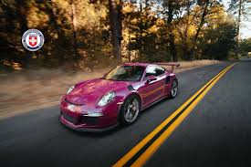 porsche dark red photos hre wheels r101 lightweight on ruby stone porsche 911 gt3