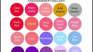 light spring color palette seasonal color analysis youtube