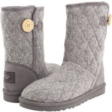 quilted ugg boots sale 44 ugg shoes uggs mountain quilted seal grey boots from