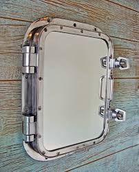 Bathroom Mirror Cabinets by Best 25 Nautical Bathroom Mirrors Ideas On Pinterest Nautical
