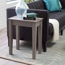 turner chair side table gray hayneedle