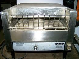 Holman Conveyor Toaster Toasters A Z Restaurant Equipment Buy Sell Trade