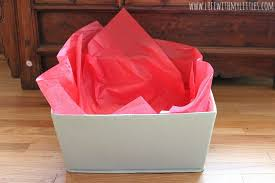 how to use tissue paper in a gift box new gift basket with my littles