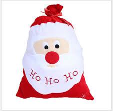 amazon com large santa toy bag gift wrap bag for christmas gifts