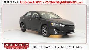 Car Rental New Port Richey Fl Port Richey Mitsubishi New Mitsubishi Dealership In Port Richey