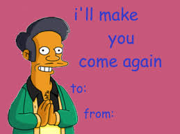 simpsons valentines day card simpsons valentines day card by glitchyjelly on deviantart